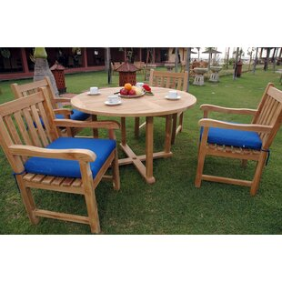 Tosca 5 Piece Teak Dining Set by Anderson Teak
