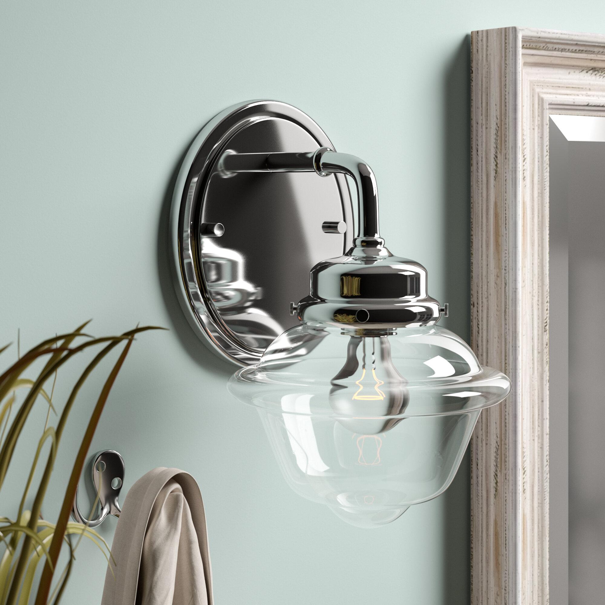 Bathroom Sconce Traditional Bathroom Vanity Lighting You Ll Love In 2021 Wayfair