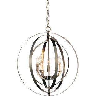 Breakwater Bay Estrella 5-Light Candle-Style Chandelier