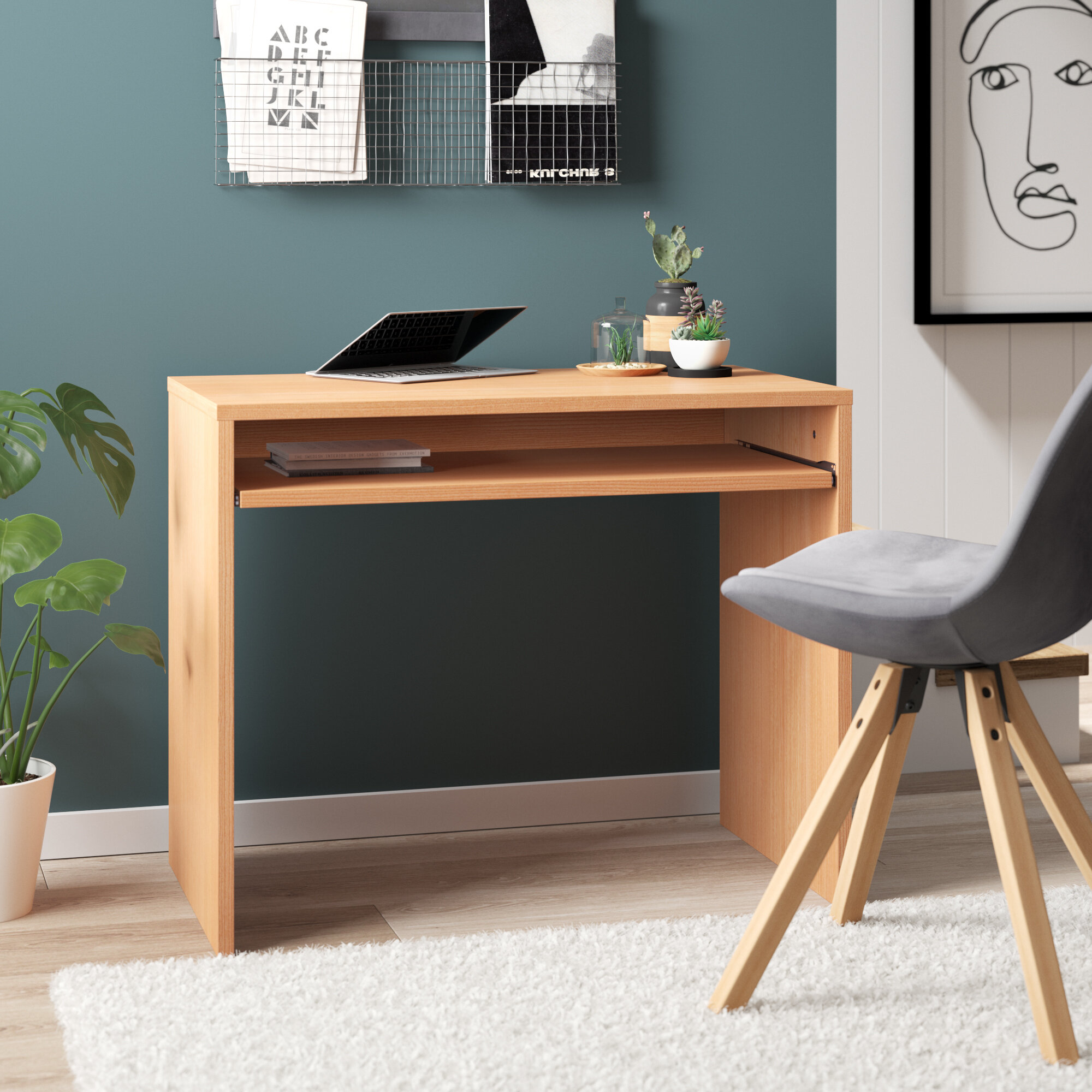 17 Stories Computer Desk Reviews Wayfair Co Uk
