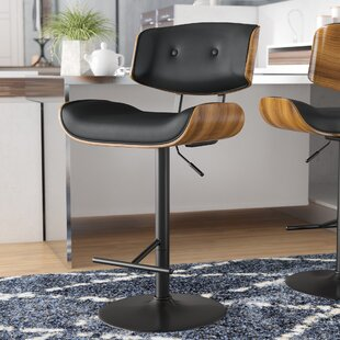 Arlon Adjustable Height Swivel Bar Stool