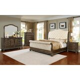 Hatley King Upholstered Sleigh 5 Piece Dresser Set by Canora Grey