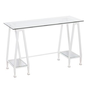 Casas Metal/Glass A-Frame Writing Desk