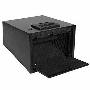 Ivation Quick Access Pop-Open Door Gun Safe with Dual-Lock by Ivation