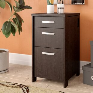 Latitude Run Benter 3-Drawer Vertical Filing Cabinet