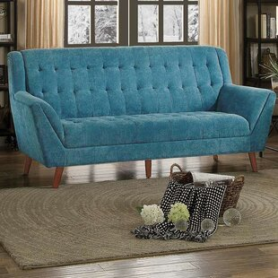 Shop Caius Upholstered Flared Sofa by Latitude Run
