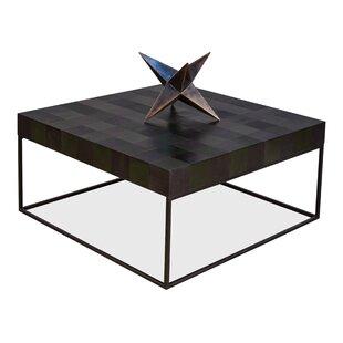 Firth Checkerboard Coffee Table Square by Brayden Studio