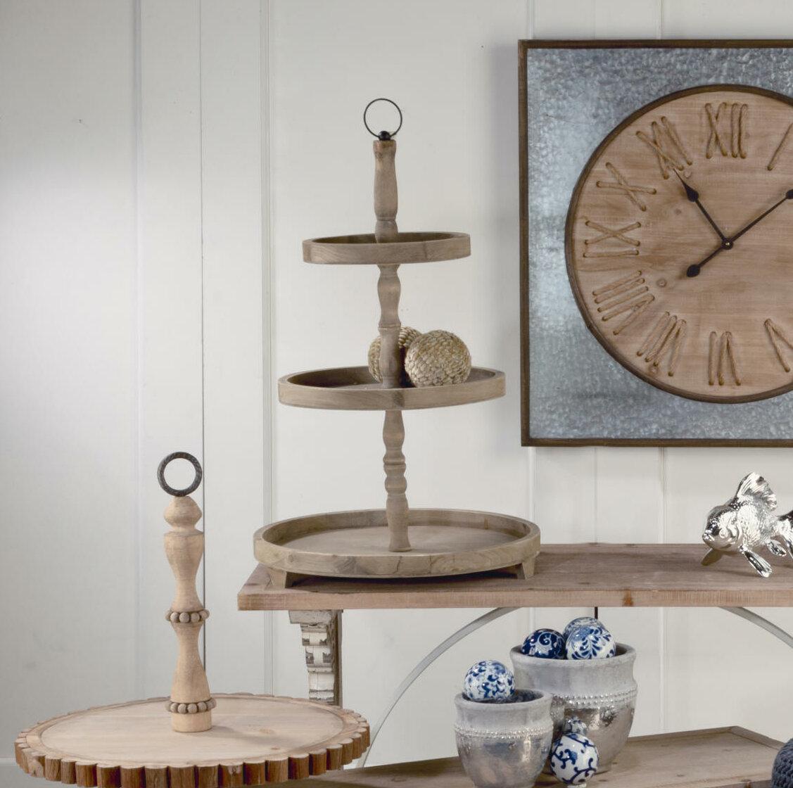 Gracie Oaks Tapley Wooden Tabletop