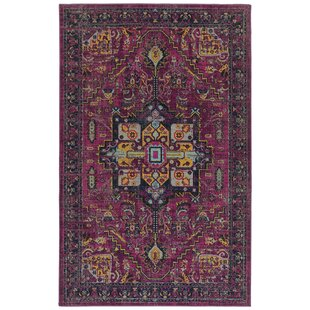 Atherton Pink/Navy Indoor/Outdoor Area Rug