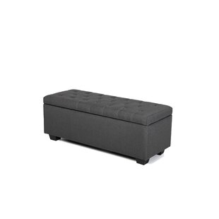 Maubara Upholstered Storage Bench by Ivy Bronx Design