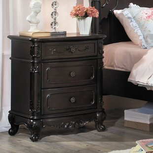 Read Reviews Baptist 3 Drawer Nightstand By Alcott Hill