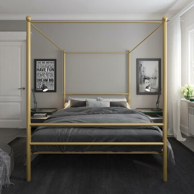 Canopy Gold Beds You Ll Love In 2019 Wayfair