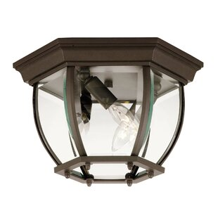Affordable Edward 3-Light Flush Mount By Breakwater Bay