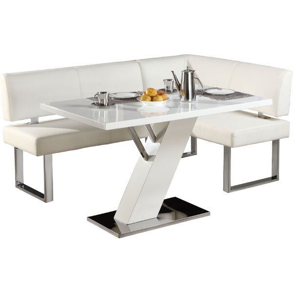 Prime Modern Contemporary Corner Breakfast Nook Table Allmodern Bralicious Painted Fabric Chair Ideas Braliciousco