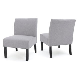 Yokota Slipper Chair (Set of 2) by Highland Dunes