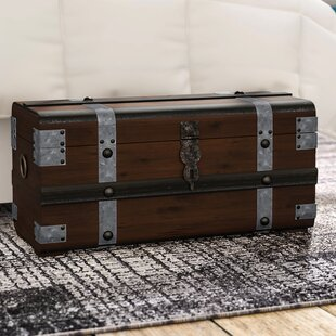 Collier Steel Band Trunk by Williston Forge #1