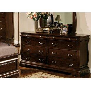 Charlton Home Reina 6 Drawer Double Dresser