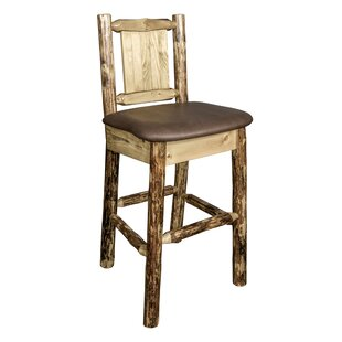 Southborough 24 Full Back Bar Stool Loon Peak