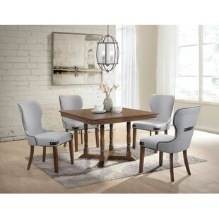 Tweed 5 Piece Dining Set Gracie Oaks