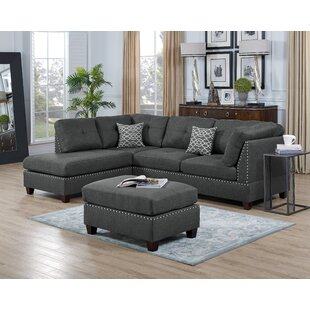 Moyers Reversible Sectional with Ottoman
