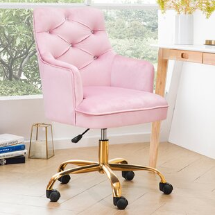 Pink Tufted Desk Chairs You Ll Love In 2020 Wayfair