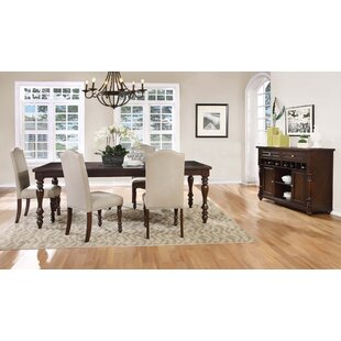 Faunce 5 Piece Solid Wood Dining Set