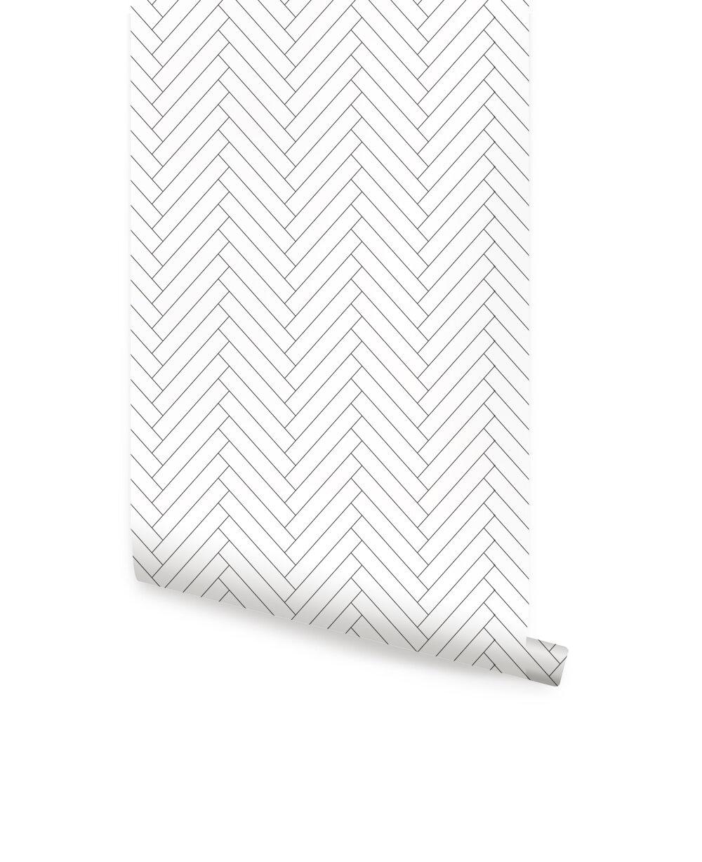 Mckillip Herringbone 4 L X 24 W Tile And Stick Wallpaper Roll Joss Main