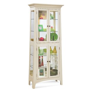 Lancaster II Lighted Curio Cabinet by Philip Reinisch Co.