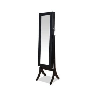 Hylda Free Standing Jewelry Armoire with Mirror by A&J Homes Studio