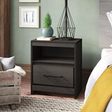 Sharma 1 Drawer Nightstand by Foundry Select