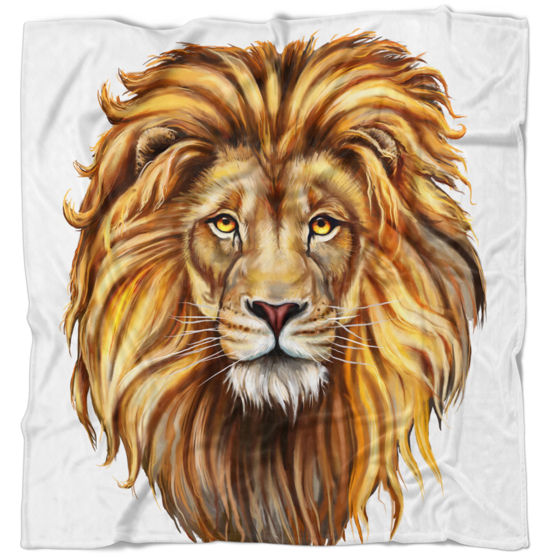 Scary Squeeze Stuffed Animals, East Urban Home Animal King Lion Aslan Blanket Wayfair