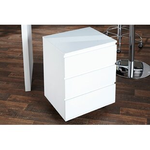 Helidoro 3 Drawers Chest By Metro Lane