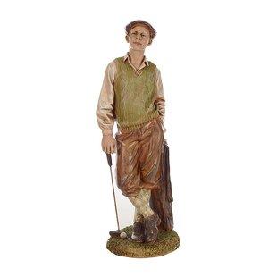 Standing Golfer Statue