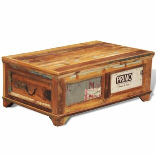 Great Deals Cheyne Reclaimed Wood Coffee Table With Storage