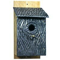 Montague Metal Products Inc. Swallows Hollow 11 in x 8 in x 5 in Birdhouse