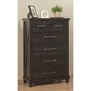 Gaudette 6 Drawer Chest by Gracie Oaks