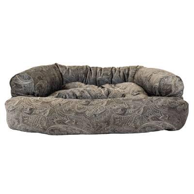 Show Dog Premium Overstuffed Bolster Bed
