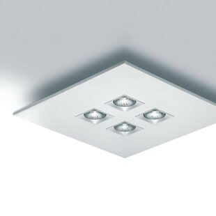 ZANEEN design Polifemo 4-Light Semi Flush Mount