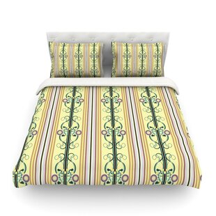 Blooming Trellis by Mydeas Featherweight Duvet Cover