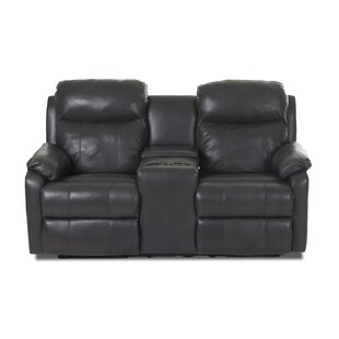 Torrance Reclining Loveseat with Headrest and Lumbar Support Red Barrel Studio