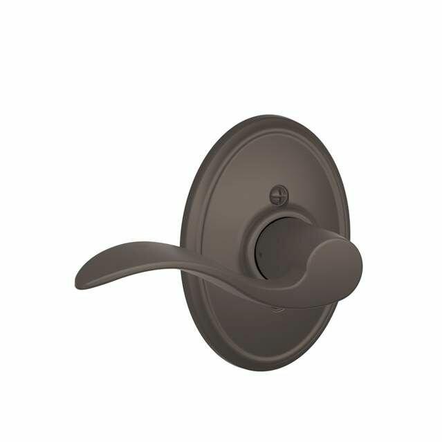 Schlage Accent Single Cylinder Interior Lever Set Exterior Portion Sold Separately Wayfair