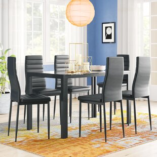 Rosenzweig 7 Piece Dining Set Latitude Run