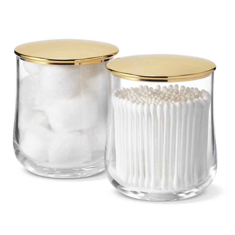AERIN Home Montes Bathroom Storage Container | Perigold