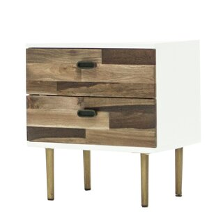 Cardone 2 Drawer Nightstand by Foundry Select