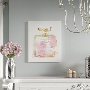 u0027Perfume Bottleu0027 Graphic Art Print & Perfume Bottle Wall Art | Wayfair