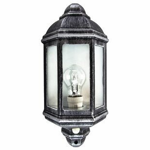 Laurel Outdoor Wall Lantern With PIR Sensor By Sol 72 Outdoor