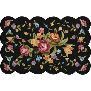 Shop For Chatelaine Hand-Tufted Black Area Rug ByAugust Grove