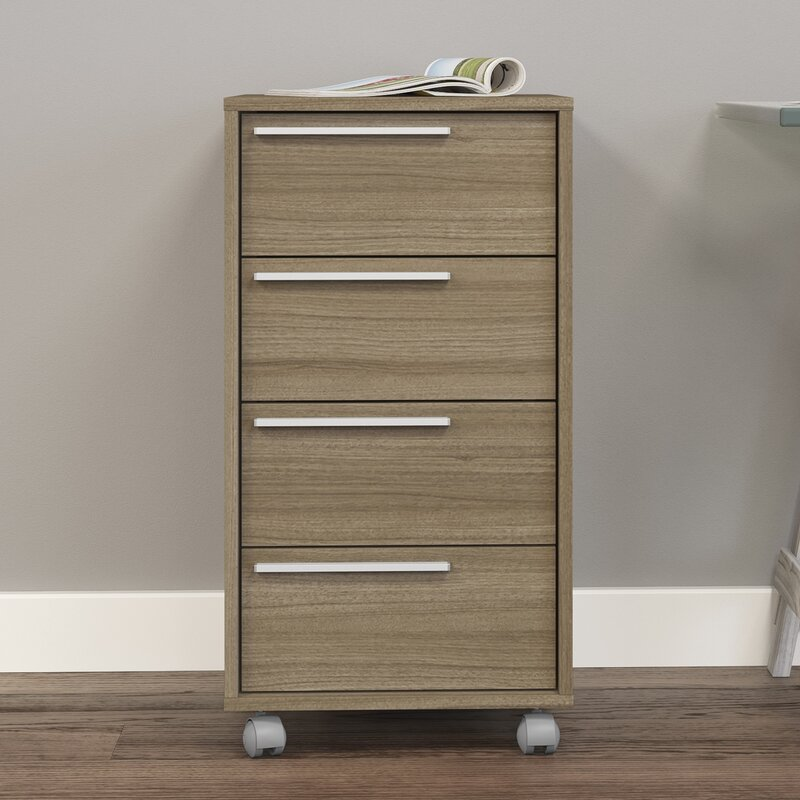 Superior Hadley 4 Drawer Vertical Filing Cabinet