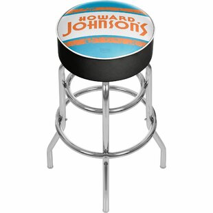 Howard Johnson 31 Swivel Bar Stool by Trademark Global #2