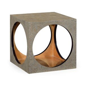 Square Accent Stool by Jonathan Charles Fine Furniture